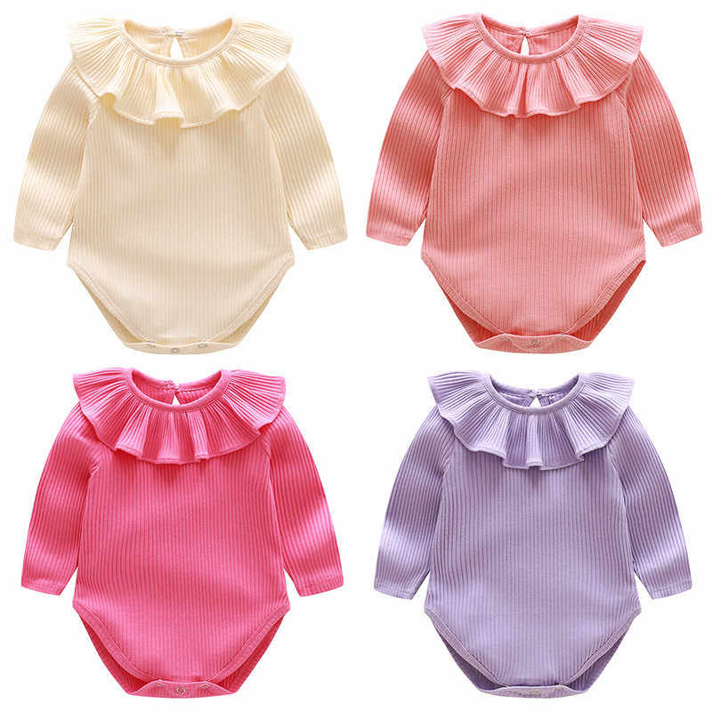 be7d6576caa2 Detail Feedback Questions about Autumn 2018 Baby Rompers Cotton Baby ...