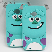 For MOTO G G2 X X2 E2 Case Hot Selling 3D Silicone Sulley Sullivan Cell Phone Back Cases Cover For Motorola Moto G 1 G 2 X X2 E2