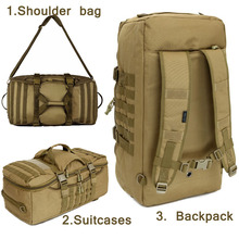 Buy Outdoor Military bag Army Tactical backpack Molle waterproof camouflage Rucksack pack hunting Sports Hiking camping shoulder bag for $51.48 in AliExpress store