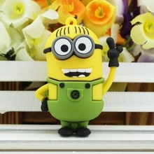 Minions Minion Usb 2.0 Stick 64gb Flash Drive Usb Flash Pen Drives 64 Gb Pendrive Pen Drive 32 Gb Gift Gifts Free Shipping