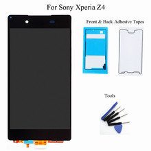 For Sony Xperia Z4 Z3 Plus E6533 E6553 LCD Display Touch Screen Digitizer Assembly with Adhesive Free Tools