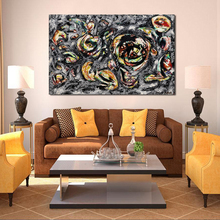 QCART Jackson Pollock Abstract Painting Still Lifes Canvas For Living Room Wall Art No Frame Decorative Pictures