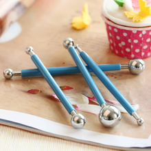 ultra light clay making tool doll face great pressure socket mouth stamp mold tool piping pen 8 head shot stick cake decoration