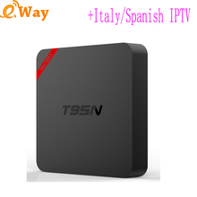 With 6Month European IPTV Account Android TV French India Netherlands Germany African IP TV code M3U Quad Core Wifi Set Top Box(China)