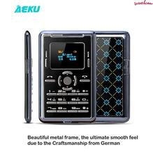 Ultra Thin AIEK/AEKU C5 Card Pocket Mini Slim mobile Phone GSM Unlocked card cell phone Celular