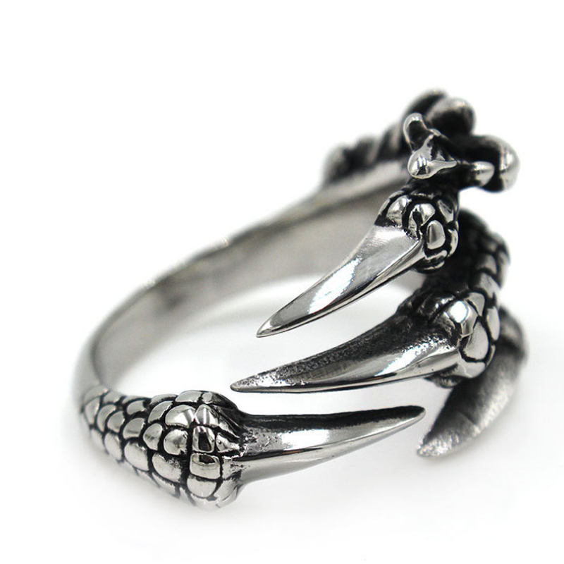 แหวนสวยๆ Code 039 แหวนDragon Claw สแตนเลส12
