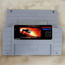 top gear 2 USA Version 16 bit Big Gray Game Card For NTSC Game Player(China)