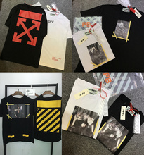 Off White T-shirts Men Women 1:1 High Quality Religion Jesus T shirts Off White Abloh Virgil Top Tees Off White T-shirts