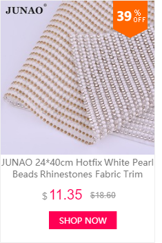 JUNAO 24x40cm Mix Color Self Adhesive Rhinestones Ribbon Resin Crystal  Fabric Sheet. Strass Mesh Decor for Garment Jewelry Crafts 8dce98b7bf3d
