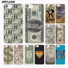BiNFUL us Big Money 100 Dollars design hard White Case Cover for Apple iPhone 7 6 6s Plus SE 5 5s 5C 4 4s phone case(China)
