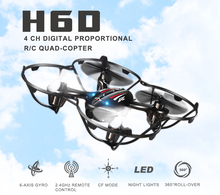 JJRC H6D 5.8G FPV Monitor RC Drone Headless CF Mode One Key auto returned RC Quadcopter with 2.0MP HD Camera  RTF