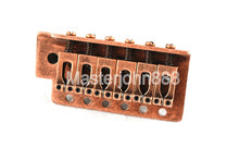Retro Copper Electric Guitar Bridge Tremolo Bridge For Fender Strat SQ Electric Guitar Free Shipping