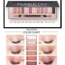 Pro 12 Colors Shimmer Matte Eyeshadow Makeup Palette Long Lasting Eye Shadow Natural Eyeshadow Naked Cosmetics With Brush
