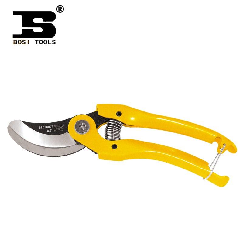 BOSI Persian tool stainless steel scissors gardening shears squid cut branches steel handle New BS539078 rasp dremel 2017 Tools<br><br>Aliexpress