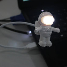 Suppion Astronaut USB LED Light Lighting Lamp Laptop Desktop Computer Accessory Free shipping Wholesale