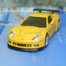 10pcs/pack Wholesale Brand New UNI 1/36 Scale USA Chevrolet Corvette Diecast Metal Pull Back Car Model Toy(China)