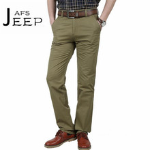 AFS JEEP 2017 Male's Military Straight Pant,Winter/Autumn 100% Cotton Wearable Overall trousers,Worker field working track pants