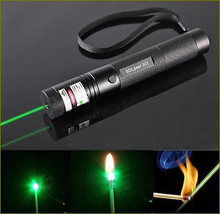 G301 Green Laser Pointer Pen Adjustable Focus Super Lazer Beam Military Visible 532nm 5mw High power Burning Match
