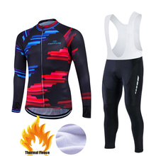 Buy 2017 New Winter Long Sleeve Cycling Jersey Sets Bike Thermal Fleece Roupa De Ciclismo Invierno MTB Men Bicycle Clothing #FWLM12 for $43.15 in AliExpress store