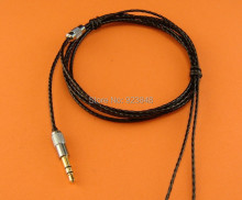 diy upgrade Bass stereo headphone wire fever UE silver plated single crystal copper Fully compatible High transmission