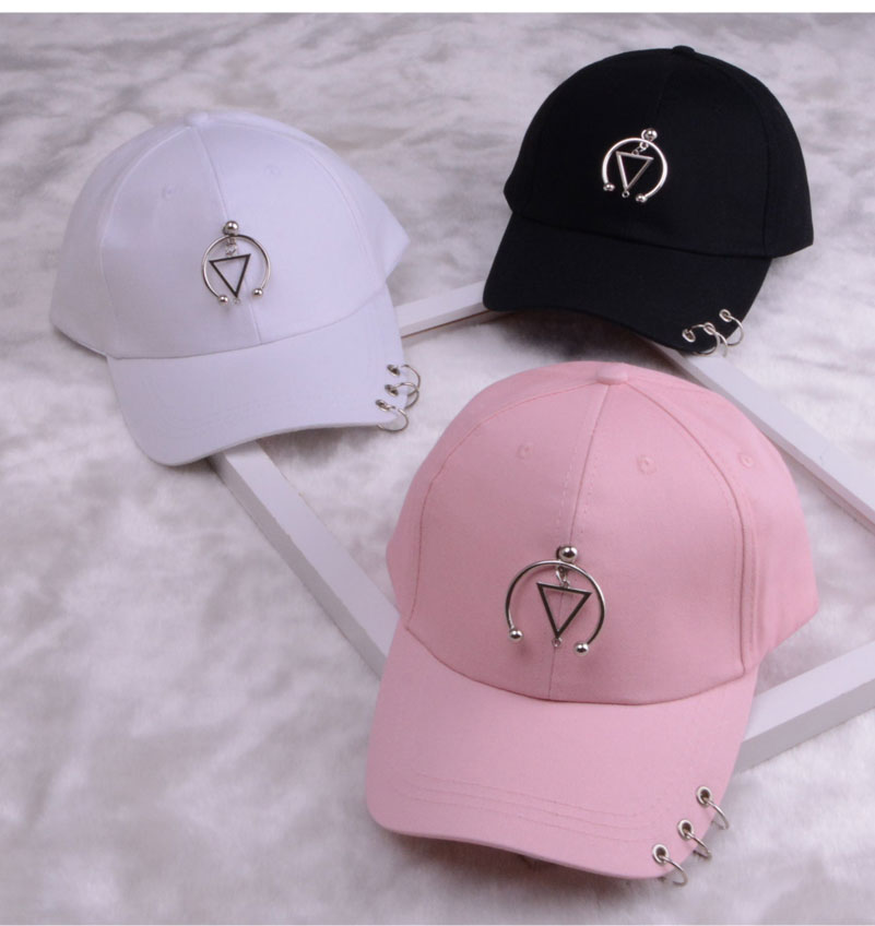 baseball cap with ring dad hats for women men baseball cap women white black baseball cap men dad hat (16)