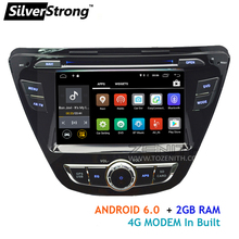 Quad Core 2GB RAM Android6.0 Car DVD For Hyundai Elantra Avante with WIFI 4G Modem GPS car radio stereo