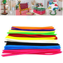 Toys For Children 100pcs Montessori Materials Chenille Puzzle Educational Toys Crafts for Kids Pipe Cleaner Stuffed Toys Toy