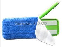 4 PCS Flat mop Replacement mop head ,fiber seaweed electrostatic mop Head, the floor waxing cloth, Free Shipping(China)