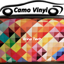 Car Styling Wrapping Colorful Camouflage Wrap Film Vinyl Motorcycle Truck Car Body Sticker Cover Matte/Glossy Finished