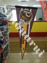 Washington Redskins Helmet American Footbal Sports Team Hot Transfer Felt Pennats 12x 30inches