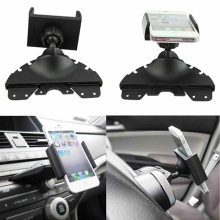 Universal Car CD Player Slot Mount Cradle Holder For iPhone Mobile Phone GPS(China)