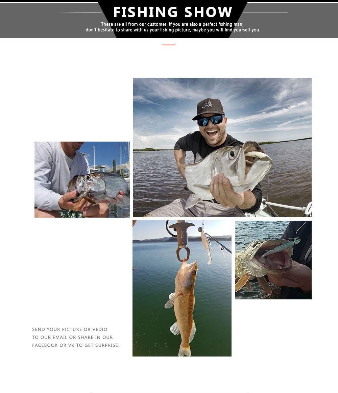 bassland fishing lure soft silicone bait 7