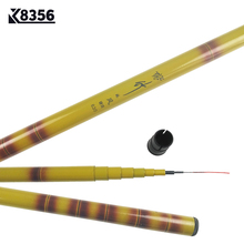 K8356 3.6 4.5 5.4 6.3m FRP Carp Fishing Telescopic Rod Winter Fishing Tackle High Strength High Hardness Chinese Wind Sea Rod(China)