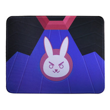 Overwatch Cute Bunny Cosplay USB Mouse Pad Wrist Rests 20x25CM Non Slip Anime Gaming Mat for PC Computer Laptop Free Shipping