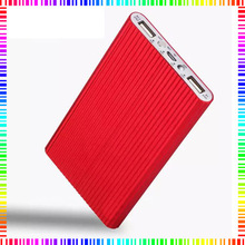 100% high quality JoyRoom real 10000 mAH Polymer power bank with aluminum housing for iphone and android phone 4 colors optional