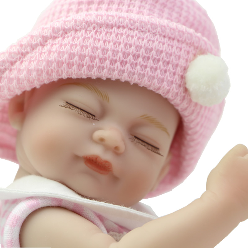 Sleeping Dolls With New Clothes 11 Inch Fashion Girl Bonecas Baby Doll Reborn Lifelike Newborn Babies For Collection<br><br>Aliexpress