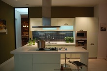High gloss/lacquer kitchen cabinet mordern(LH-LA060)