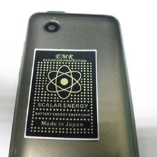 500pcs EMR Sticker for Mobile Phone / IPAD Computer with 2000CC IONS Scalar Energy Anti Radiation Sticker Shield DHL/EMS FREE(China)
