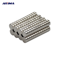 AIYIMA 100pcs 5*2mm Disc Mini Strong Rare Earth Neodymium Magnet 5mm*2mm NdFeB Magnetic Tape Crafts Magnetite Super Magnets 5x2
