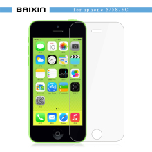 baixin Ultra Thin 2.5D Tempered Glass Screen Protector For iPhone 5 5S 5c HD Toughened Protective guard Film + Cleaning Kit(China)