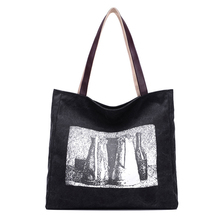 LACATTURA Artistic Printed Women's Casual Tote Female Daily Use Female Shopping Bag Ladies Single Shoulder Handbag
