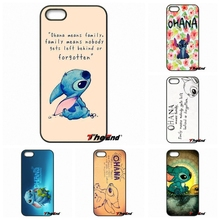 For Motorola Moto E E2 E3 G G2 G3 G4 PLUS X2 Play Style Blackberry Q10 Z10 Ohana Means Family Lilo Stitch Inspired Phone Case