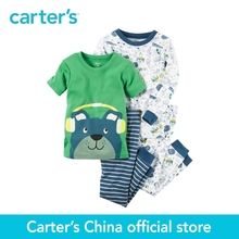 Carter's 4pcs baby children kids Snug Fit Cotton PJs 321G245,sold by Carter's China official store(China)