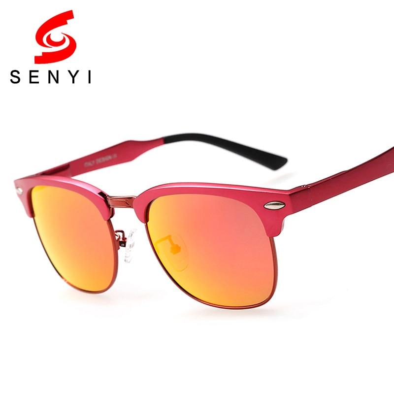 New Fashion Sunglasses Unisex Polarized Lens Anti Reflective Brand Design Frame Alloy Driving Glass Lady Summer Sun Glasses 240<br><br>Aliexpress