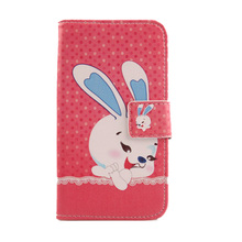 LINGWUZHE Choose Case For LG OPTIMUS F6 D500 /D505 Lovely Design Flip PU Leather Protective mobile phone Cover wallet bags