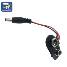 Experimental 9V battery snap power cable to DC 9V clip male line battery adapter for arduino uno r3 mega2560