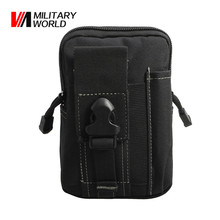 Buy Military World 600D Tactical Molle Belt Waist Bag Utility Pouch Outdoor Phone Case Purse Pouches Pack Iphone 7 Hunting Bags for $4.49 in AliExpress store
