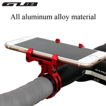 Metal CNC Smart GUB G-86 Bike Bicycle Handle Phone Mount Cradle Holder Support Case Motorcycle Handlebar For CellPhone GPS(China)