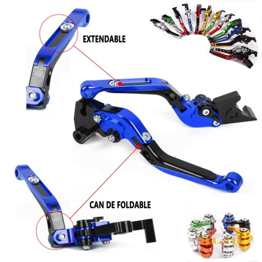 For Yamaha XJR1200 XJR 1200 1995 - 1998 1997 1996 CNC Motorcycle Folding Extendable High-quality Adjustable Clutch Brake Levers<br>
