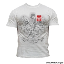 Jzecco Men'S Print T Shirt 100% Cotton T Shirt Polska-Poland  2016 France ! Footballer Supporters Poland Fans